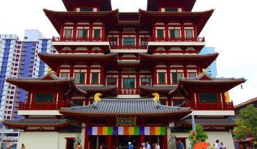 Khám phá chùa Răng Phật Singapore